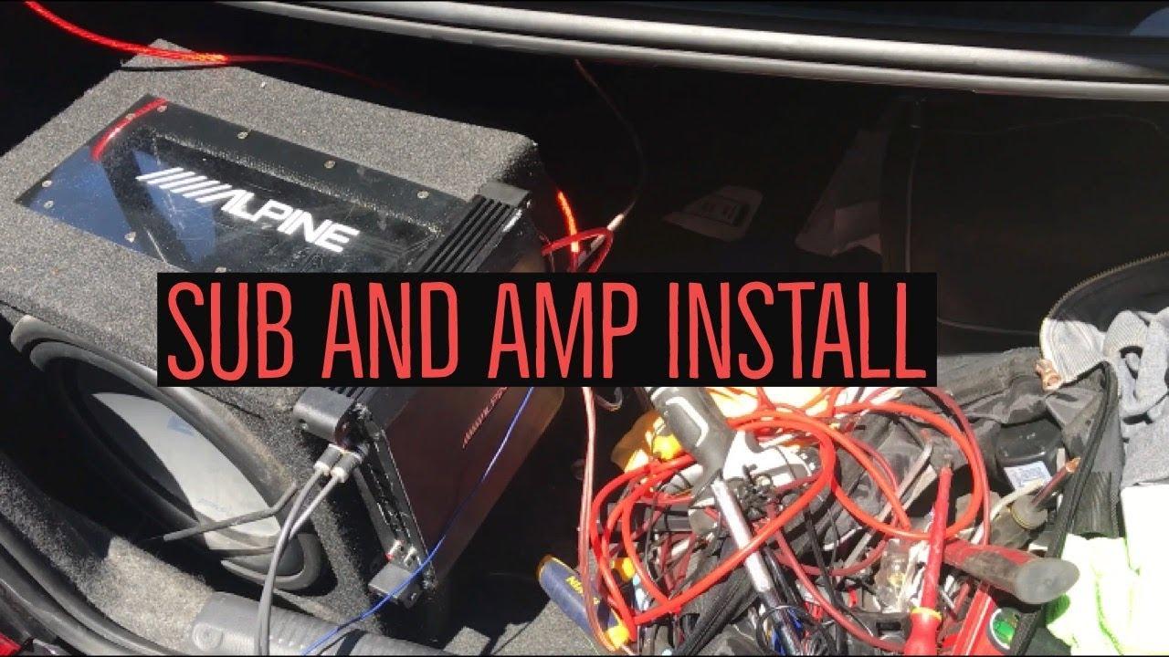 subs and amp wiring subaru impreza wrx sub and amp install   youtube  subaru impreza wrx sub and amp