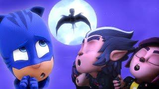 PJ Masks Full Episodes 🦇Creatures in the Night 🖤4K HD   Superhero Cartoons for Kids