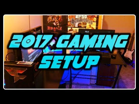 MY 2017 GAMING/ROOM SETUP TOUR! ( 500 SUBSCRIBER SPECIAL! )