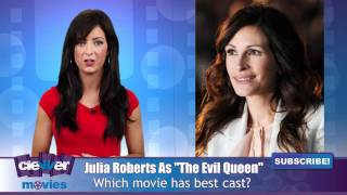 "Julia Roberts The ""Evil Queen"" In Snow White Film?"