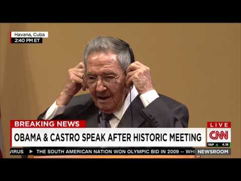 Raul Castro: What political prisoners?
