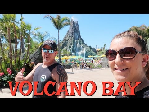OUR FIRST TIME AT UNIVERSAL ORLANDO RESORT'S VOLCANO BAY! WILL WE LIKE IT?