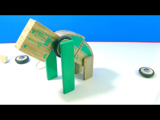 Unboxing #Tegu Simple Magnetic Wooden Toys Circuit Racer