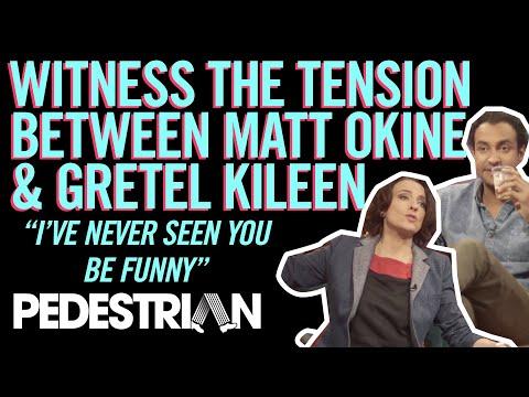 Witness The Tension Between Matt Okine and Gretel Killeen