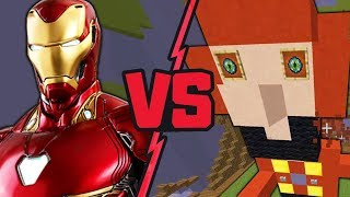 IRON MAN (REALIDAD VS MINECRAFT)