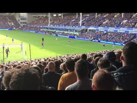 Ross Barkley gets his goal. Fuck the Sun. Everton vs Burnley