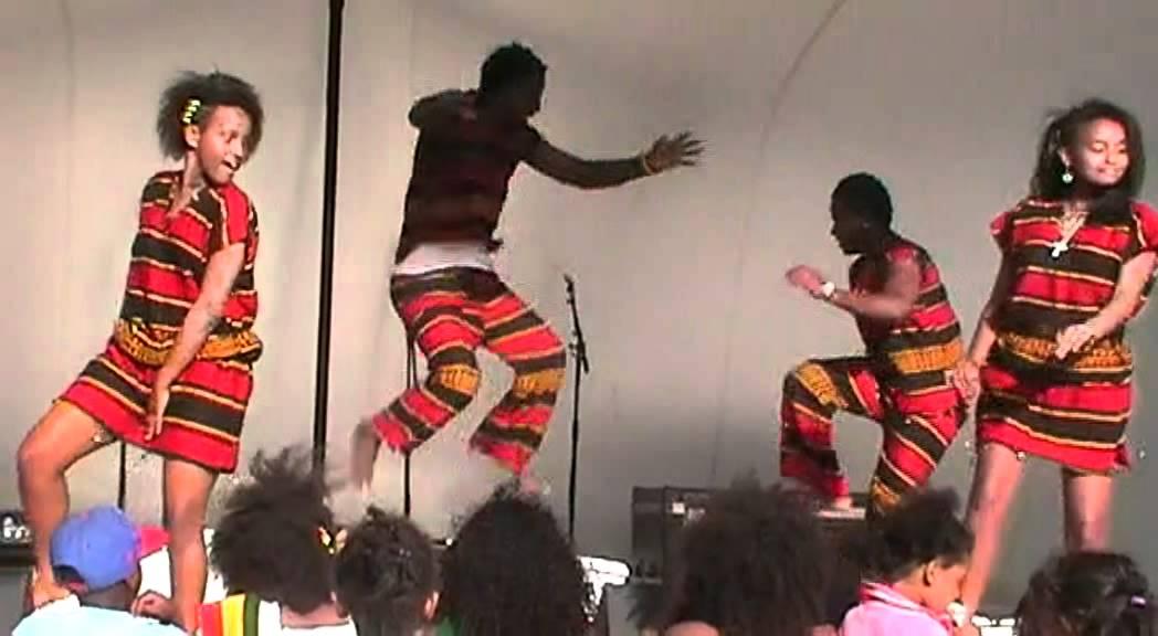 Ethiopian cultural dance by Ethiopian community of