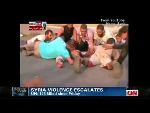 Deadly violence in Syria escalates