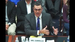 Adam Carolla Warns Congress About College 'Safe Spaces'