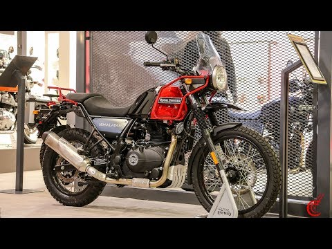 2020 Royal Enfield Nought Tea GT | Twin FT | Himalayan | Bullet Trials | EICMA 2019