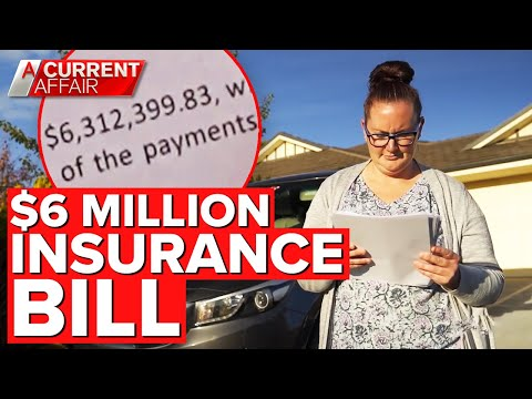Mother's $6 million insurance bill nine years after car accident   A Current Affair