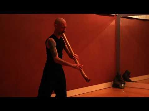 Tamuke 手向 Zen Buddhist Bamboo Flute (bass/Taimu) Shakuhachi Played By Cornelius Boots (深禅) 竹の尺八