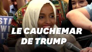 Insultée par Donald Trump, Ilhan Omar est acclamée dans son fief
