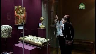 Смотреть видео В Петербурге проходит выставка «Серебро Господа моего» онлайн