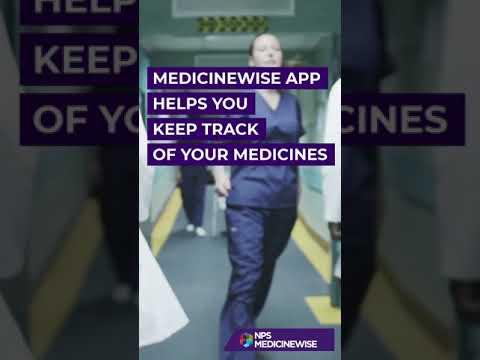 MedicineWise app: manage medicines on your smartphone - NPS MedicineWise