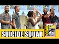 Suicide Squad Comic Con Panel Margot Robbie Will Smith Cara ...
