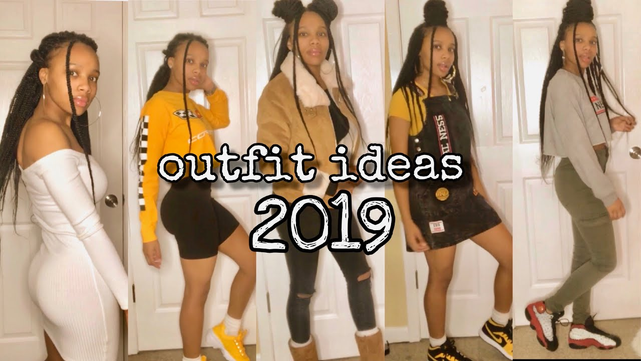 outfit ideas (for school) 2019 | winter look book VERY trendy!