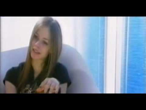 Avril Lavigne 4play T.V Interview 2002