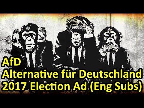 Alice Weidel Alexander Gauland AfD Alternative für Deutschland Campaign TV Ad (English Subtitles)