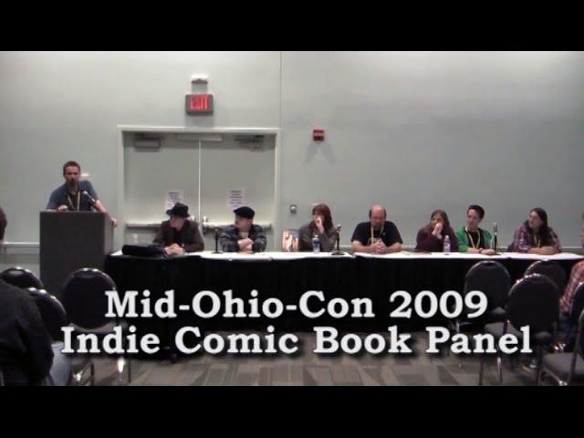 Mid-Ohio-Con 2009 Indie Comic Book Panel
