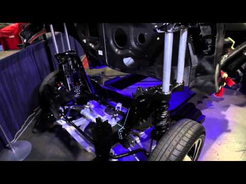 Rail Section And Apron Replacement With Rivet Bonding BMW I3