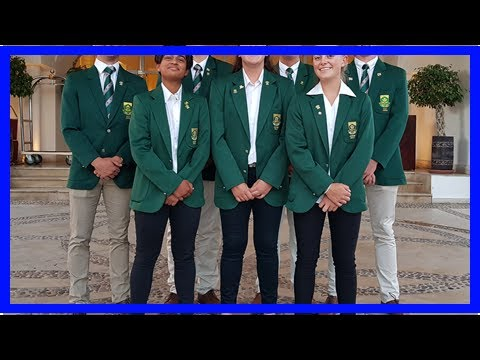 Golf - SA Juniors Are Heading for World Cup in Japan