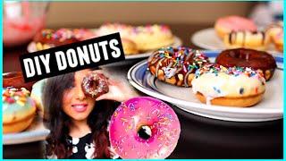 Diy Donuts!   Yummy & Easy! 2015