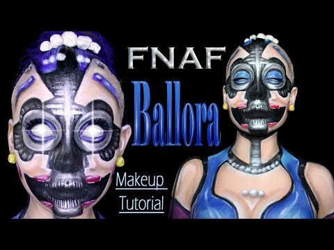 Ballora - Five nights at Freddy's makeup tutorial