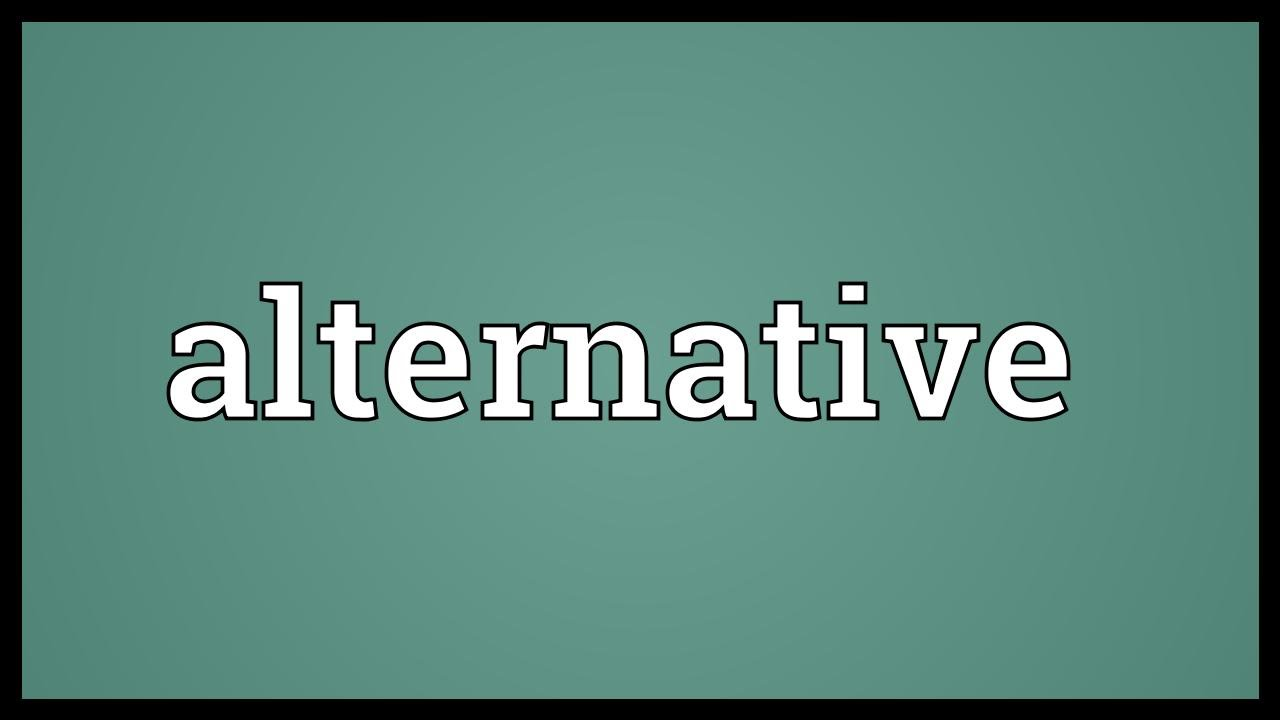 """how is the alternative to the We've all seen the words """"complementary,"""" """"alternative,"""" and """"integrative,"""" but what do they really mean this fact sheet looks into these terms to help you understand them better and gives you a brief picture of the mission and role of the national center for complementary and integrative health (nccih) in this area of research."""