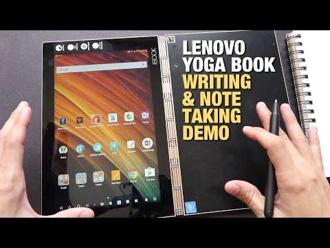 Lenovo Yoga Book Handwriting & Note Taking Demo