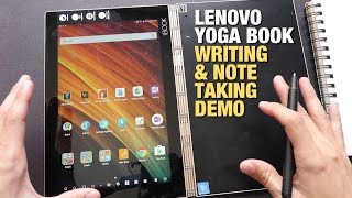 Lenovo Yoga Book Handwriting & Note Taking Demo