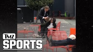 S.F. Giants CEO Larry Baer In Physical Altercation with Wife on Video | TMZ Sports