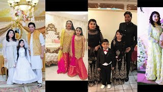 javeria saud special collection on eid with family