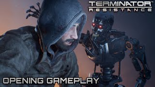 Terminator Resistance - Opening Gameplay   Official FPS Shooter Game (2019) 4k