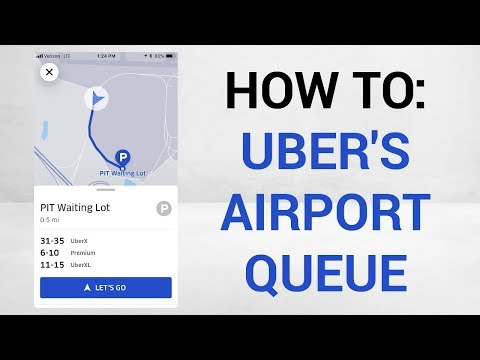 Uber's Airport Queue Explained (Newest App Update)