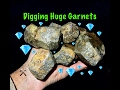 """Digging for Large Garnet Crystals in North Carolina """"The Crystal Collector"""""""