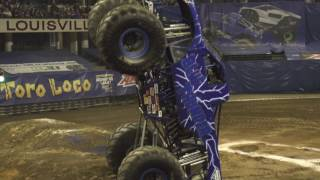 Monster Jam Louisville Highlights   Triple Threat Series Central presented by AMSOIL Jan 20 21, 2017