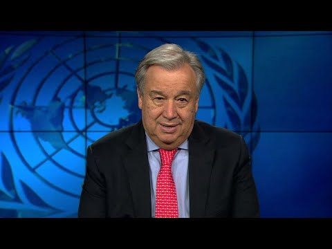 """UN Secretary-General António Guterres marks the """"go live"""" of sweeping UN reforms on 1 January 2019"""