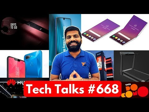 Tech Talks #668 - LG Folding Phone, Xiaomi Treadmill, Realme Growth, Whatsapp Video, Galaxy A
