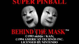 Super Pinball: Behind the Mask SNES Music - Wizard