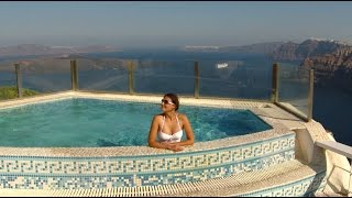 Смотреть видео о санторини греция видео