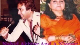 Naheed Akhtar, A.Nayyar - Tumhein Dekh Ke Dekh Na Payenge Hum - [Ptv Songs]