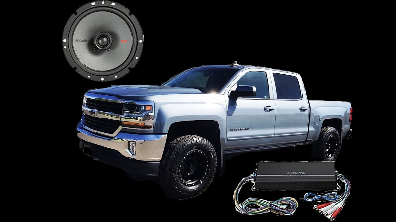 hight resolution of 2016 silverado speaker and amplifier install