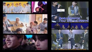 Jungkook says I love you to Taehyung and keeps laughing hard because of him (Taekook analysis)