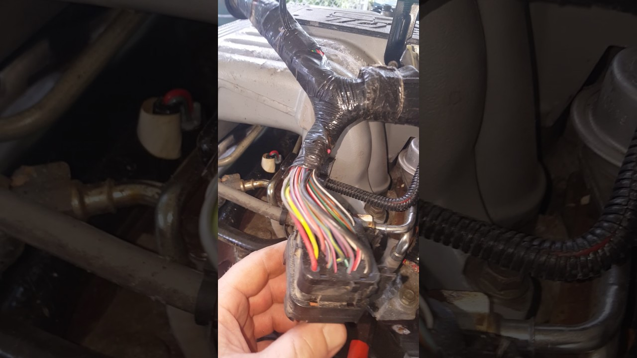 small resolution of wiring on 97 ford explorer 5 0l youtube 97 explorer engine wiring harness