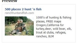 Hunting in California and Oregon 500 + Hunting Clubs, Public Lands, duck clubs, Pig hunting