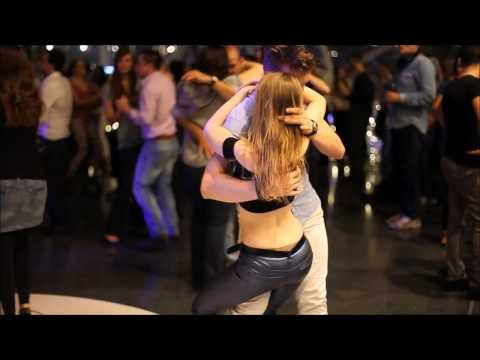 Bachata at Salsa and Sensual Party Frankfurt MyZeil with Chris DC and Mirka