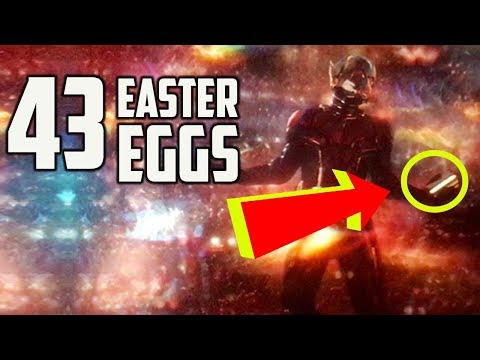 Ant-Man and the Wasp - Every Easter Egg and Marvel Reference