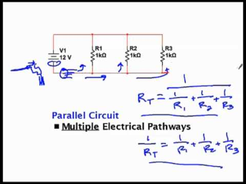 Calculating Total Resistance in Series and Parallel Circuits - YouTube