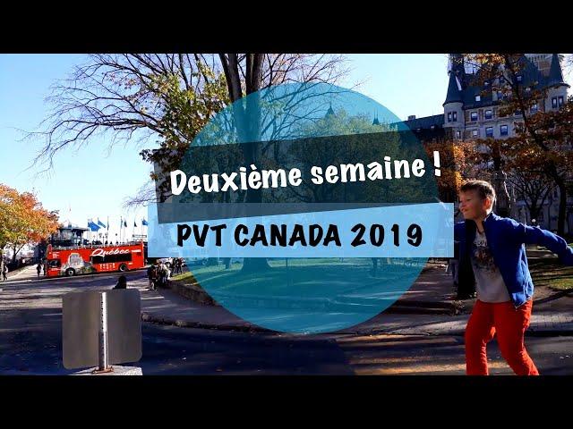VLOG #6 - PVT CANADA 2019 - Bienvenu dans l'érable !